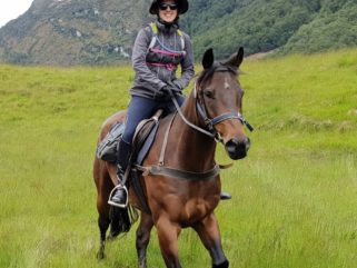 Globetrotting glenorchy back country ride New Zealand