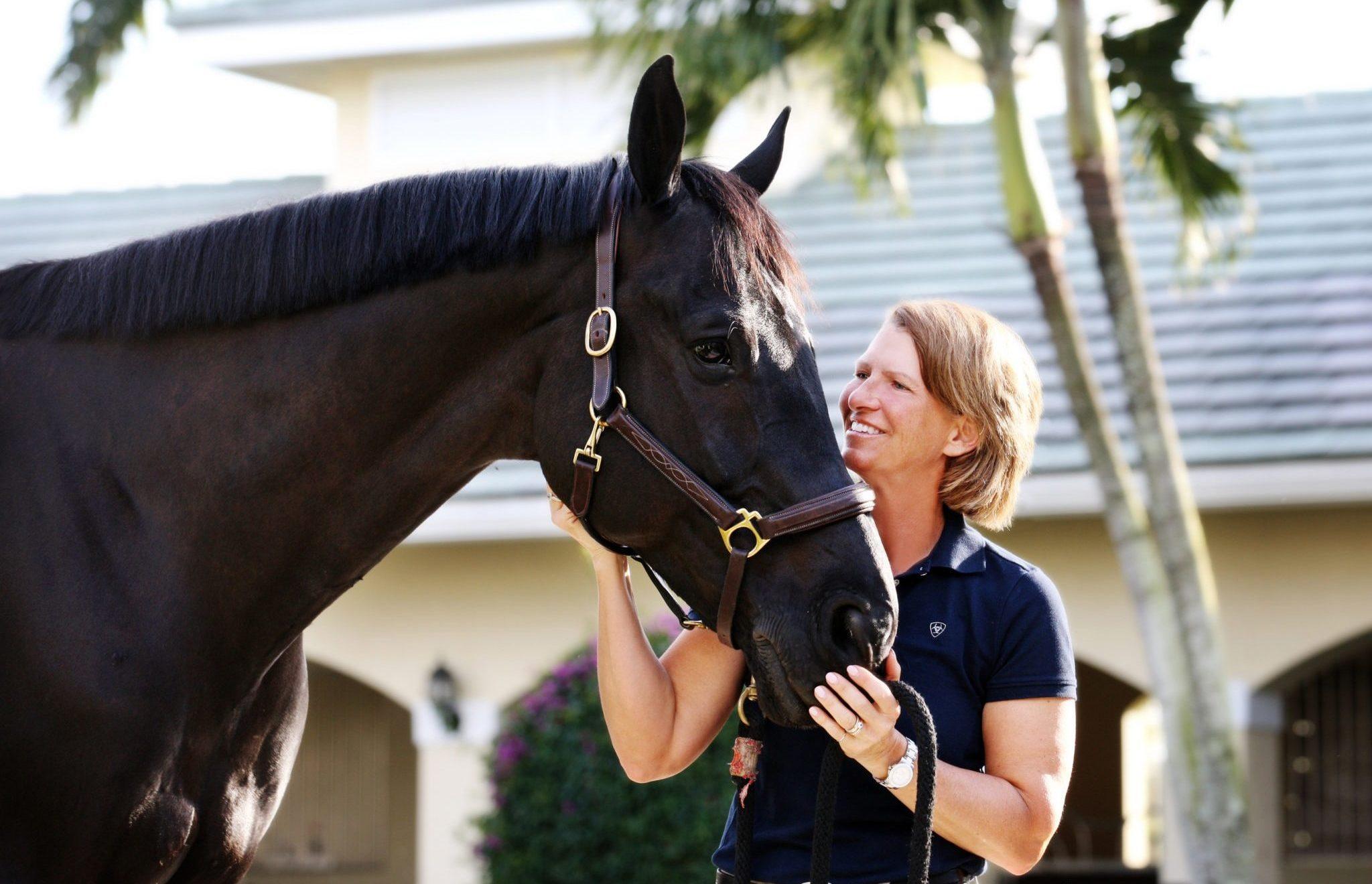 Showjumping Legend: Beezie Madden - photo Barbara Bower - Globetrotting horse riding holidays