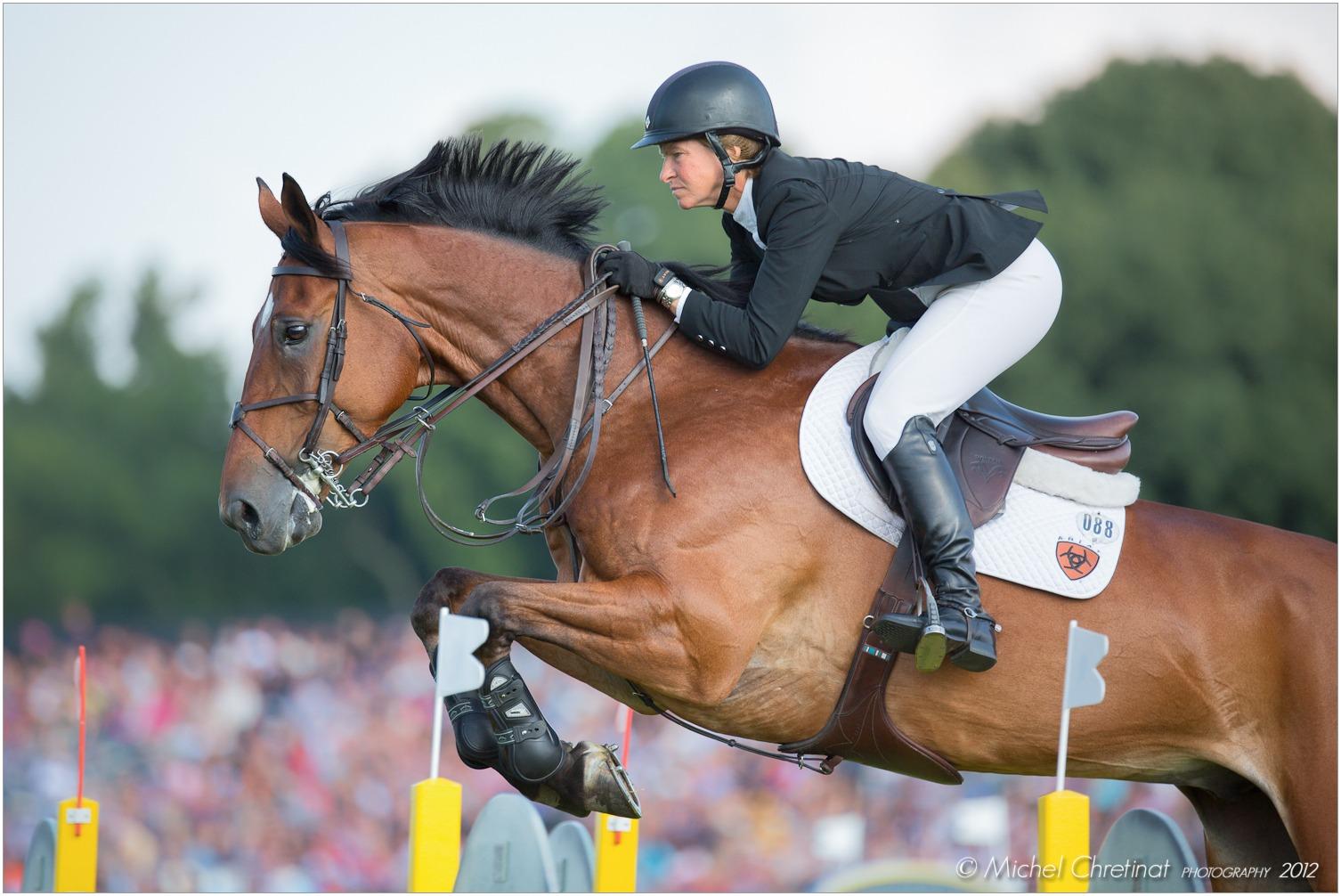 Showjumping Legend: Beezie Madden - photo Michel Chretinat - Globetrotting horse riding holidays