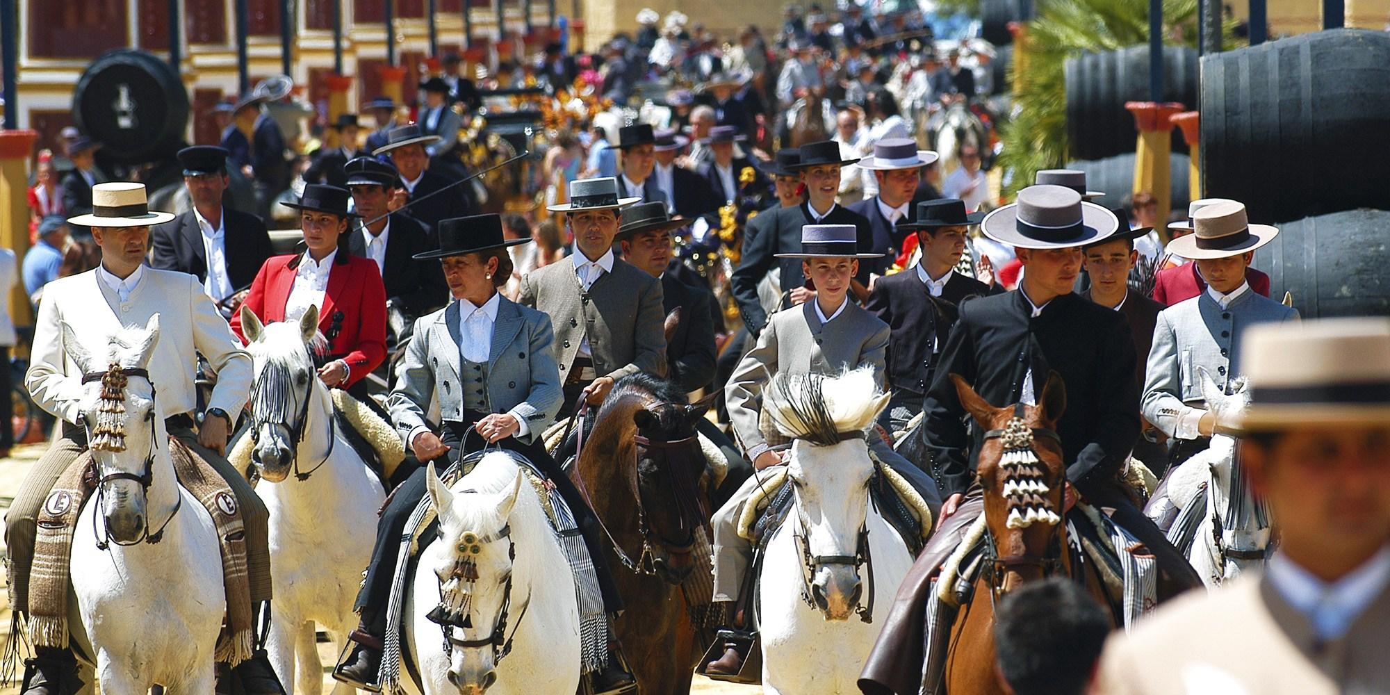 Jerez Horse Festival - photo occhidaviaggio - Globetrotting horse riding holidays