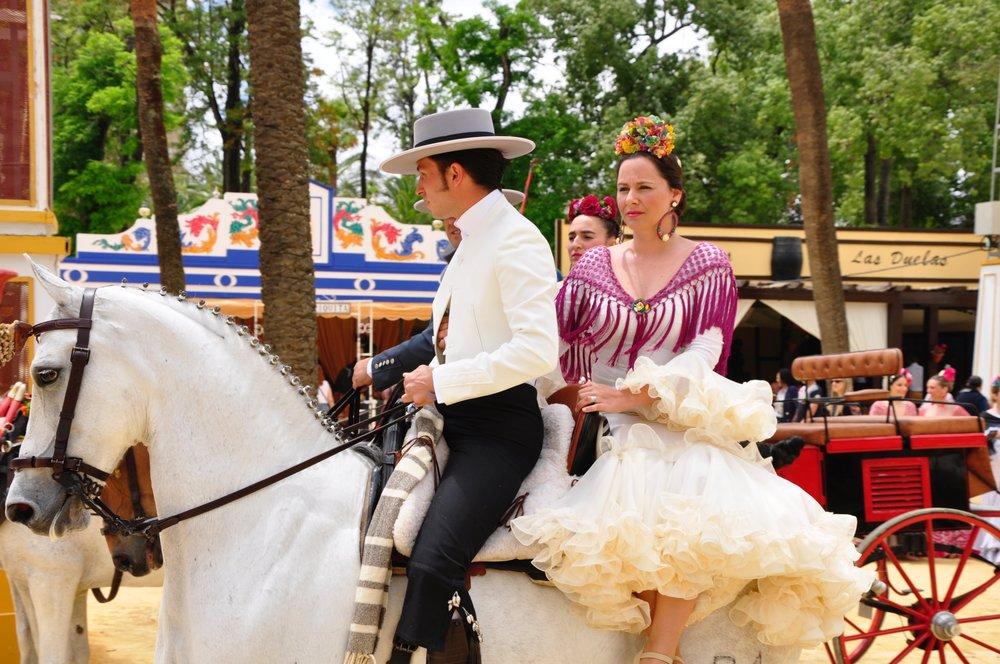 Jerez Horse Festival - photo via Strait Escapes - Globetrotting horse riding holidays