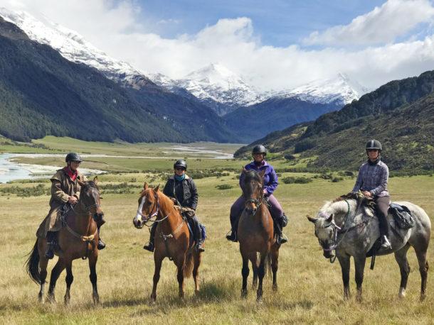 The Glenorchy Back Country Ride, New Zealand - Globetrotting horse riding holidays