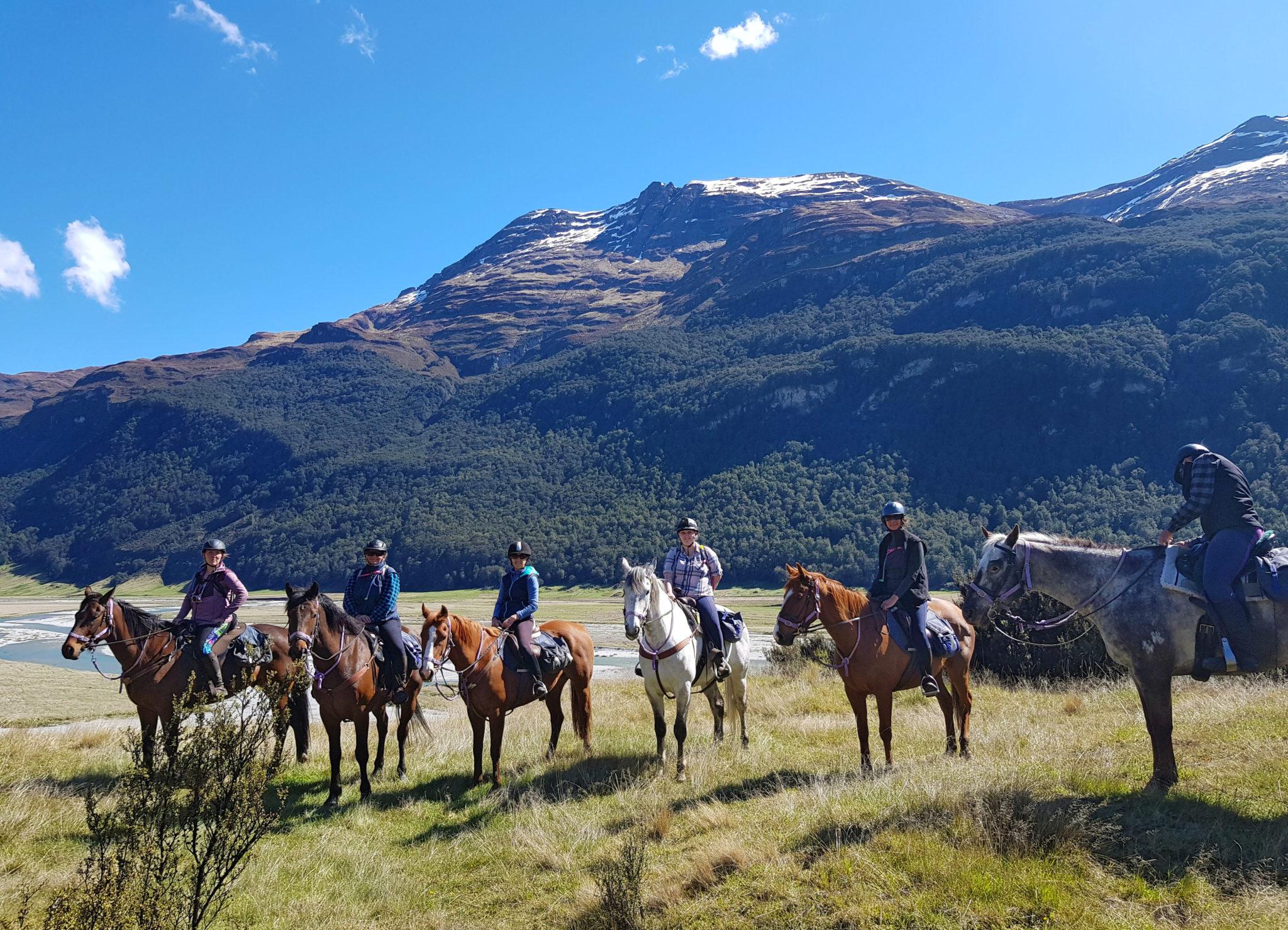 Glenorchy Back Country Ride, New Zealand - Globetrotting horse riding holidays