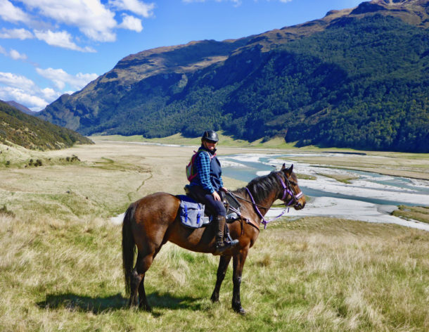 The Glenorchy Back Country Ride, New Zealand - Globetrotting horse riding holidays