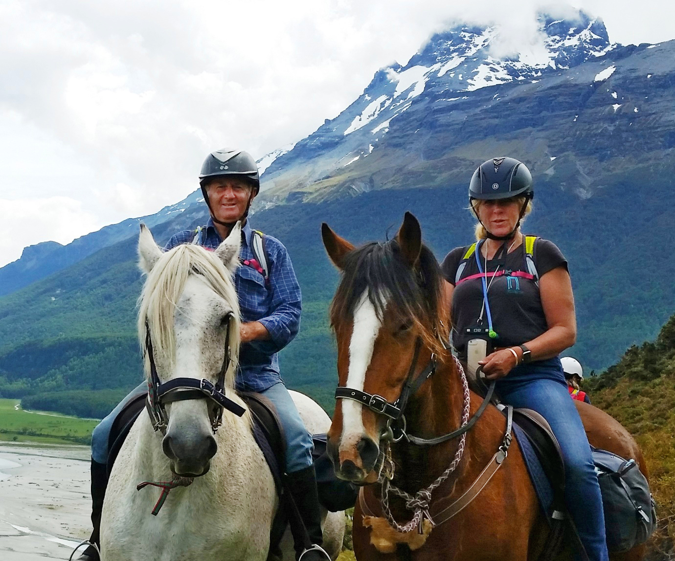 Meet a Globetrotter: Anthony Tietze - Glenorchy Back Country Ride, New Zealand - Globetrotting horse riding holidays