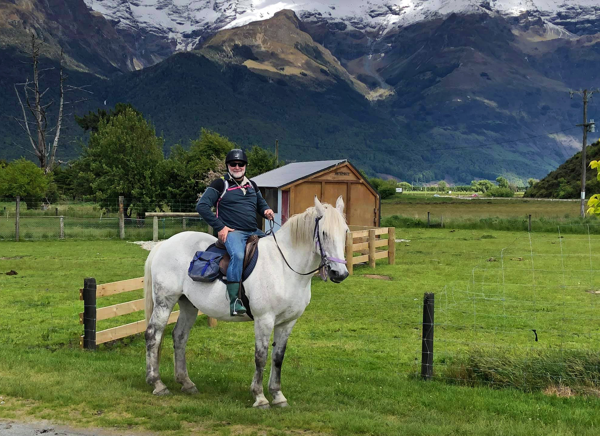 Meet a Globetrotter: Peter Scott - Glenorchy Back Country Ride, South Island, New Zealand - Globetrotting horse riding holidays