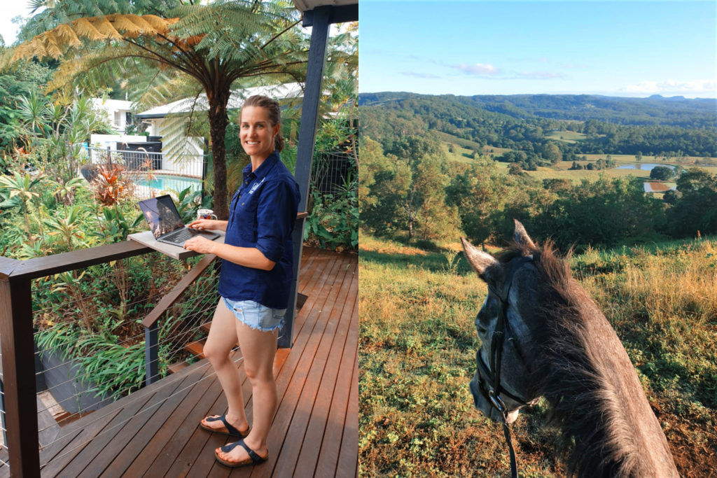 Working from Home - Globetrotting horse riding holidays