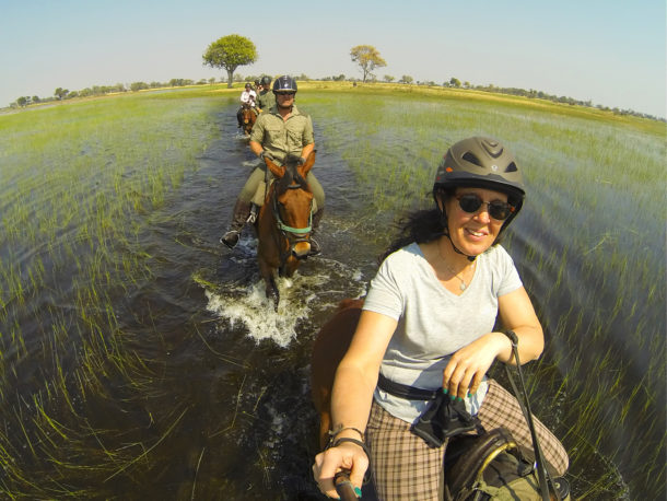 Okavango Delta, Botswana - Globetrotting horse riding holidays and safaris