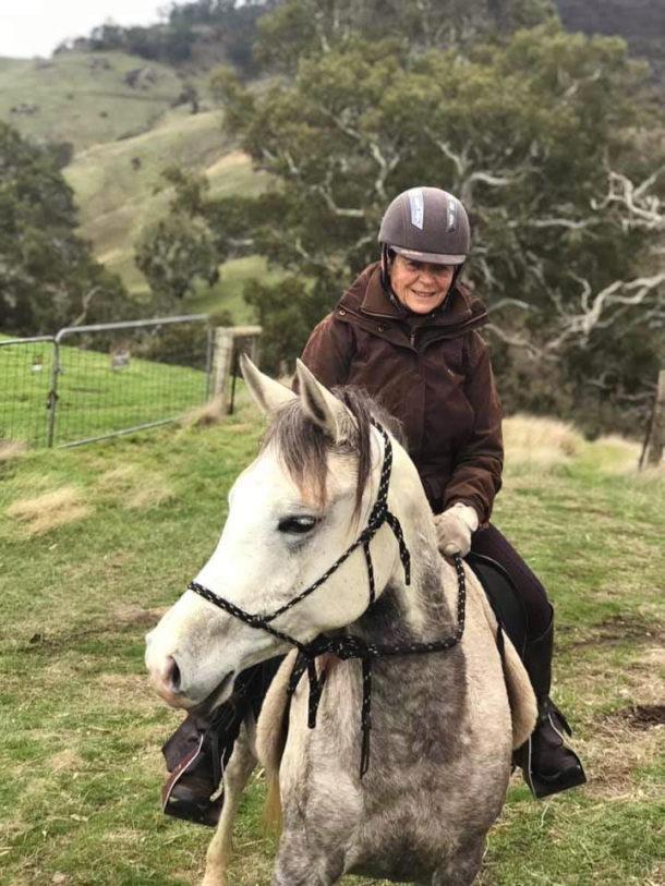 Meet a Globetrotter: Christine Kerr - The Grape Horse Adventure, Australia - Globetrotting horse riding holidays