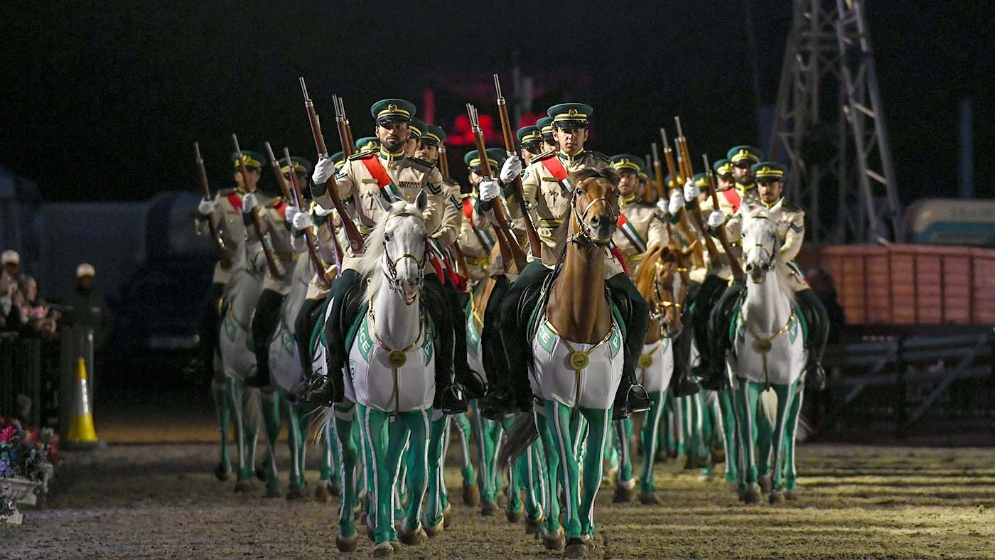 The Pageant at the Royal Windsor Horse Show - photo via Horse and Hound - Globetrotting horse riding holidays