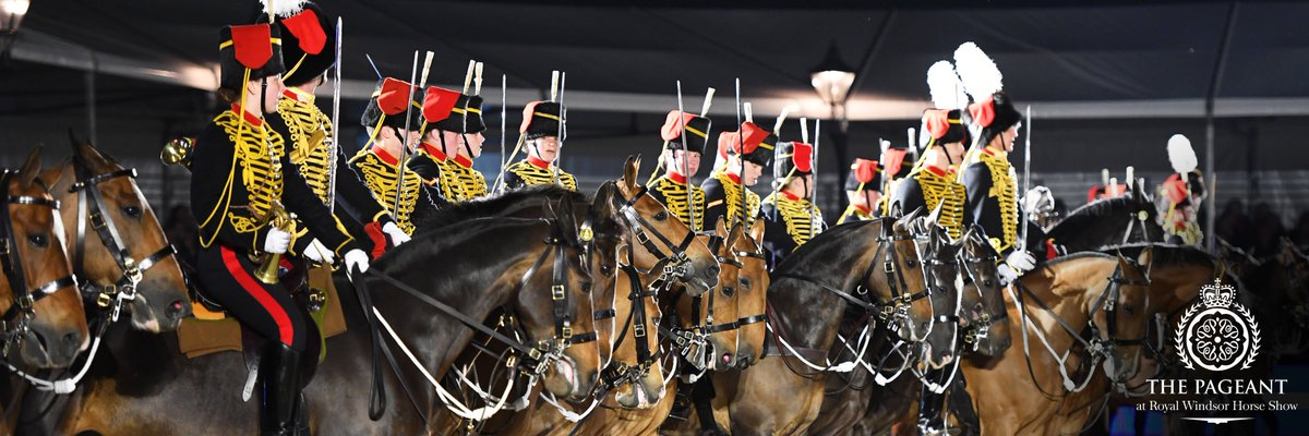 Virtual Windsor - photo via The Pageant at RWHS, Twitter - Globetrotting horse riding holidays