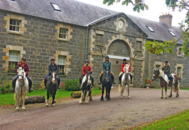 Castle & Estate Ride, Ireland - Globetrotting horse riding holidays