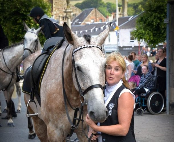 Meet our Guide: Susy - The Scottish Borders Ride, The Thirlestane Castle Ride, Scotland - Globetrotting horse riding holidays