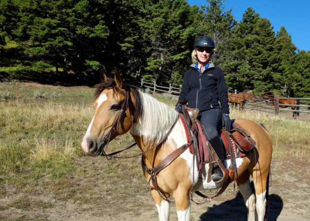 Ranch ride in Montana, USA - Globetrotting horse riding holidays