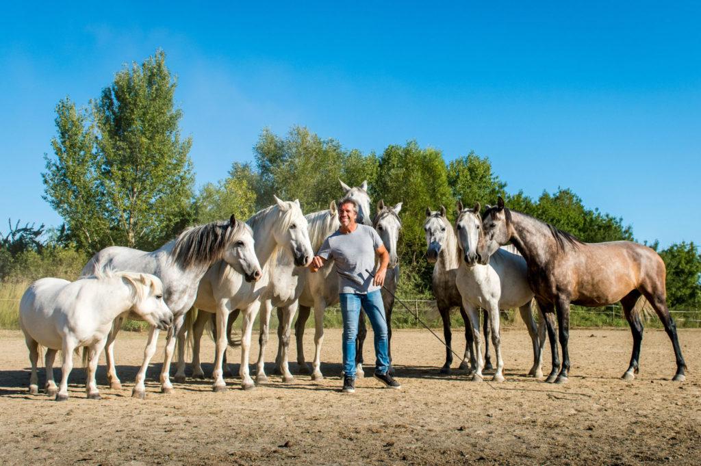 Jean-François Pignon, Horseman Extraordinaire - image via Richard Dunwoody - Globetrotting horse riding holidays