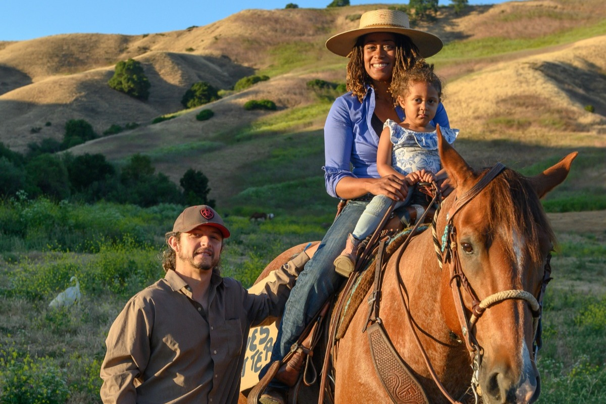 Heels Down, Fists Up: Bri Noble and Black Lives Matter - photo via Brianna Noble - Globetrotting horse riding holidays