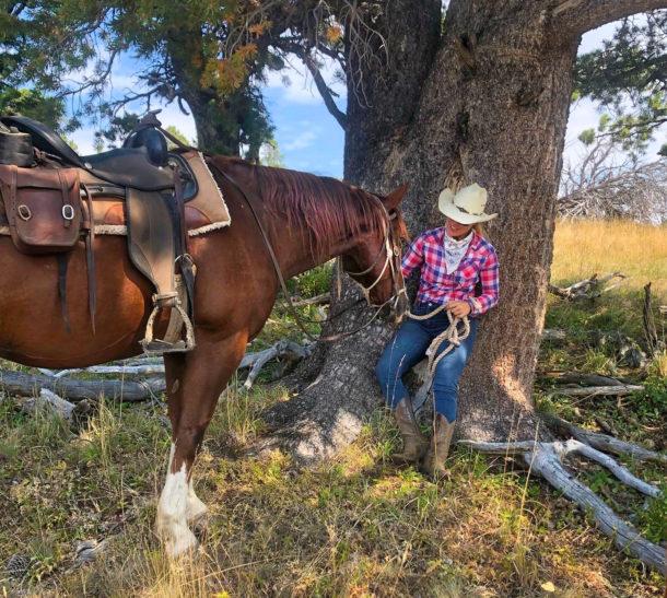 Big Horn Cattle Drive, Wyoming, USA - Globetrotting horse riding holidays