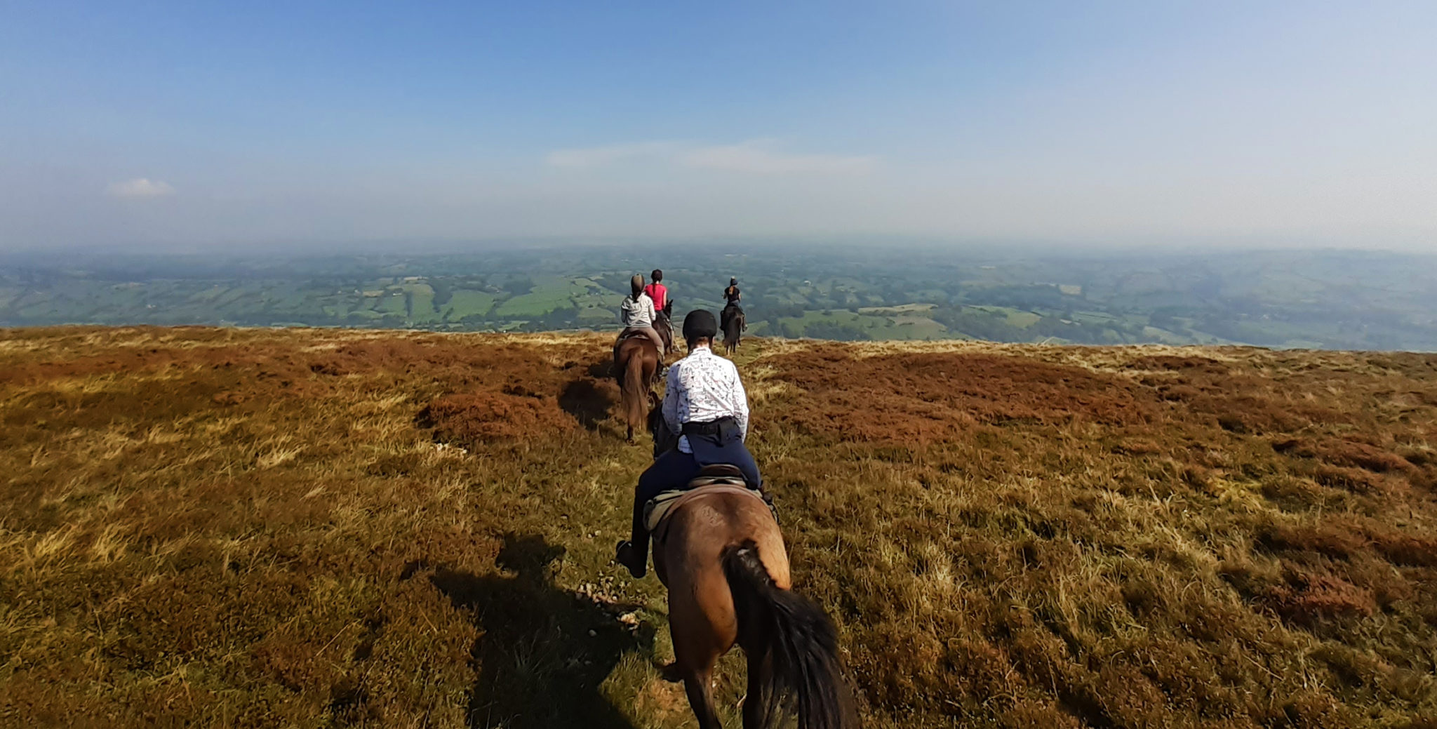 Hay Triangle, Wales - Globetrotting horse riding holidays