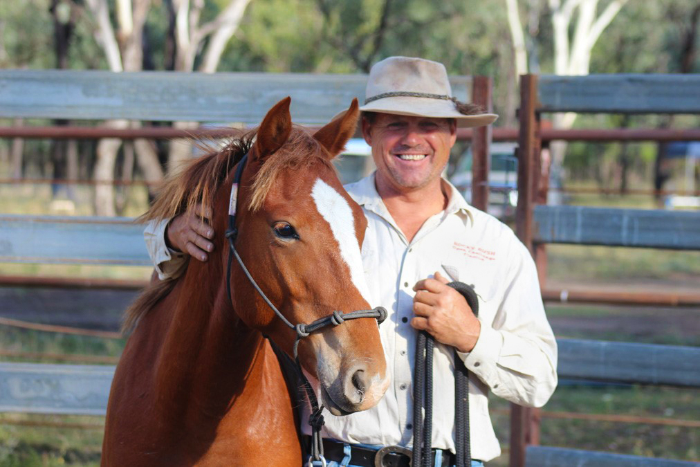 Meet our Guide: Brian Hampson - Desert Brumby Safari, Australia - Globetrotting horse riding holidays