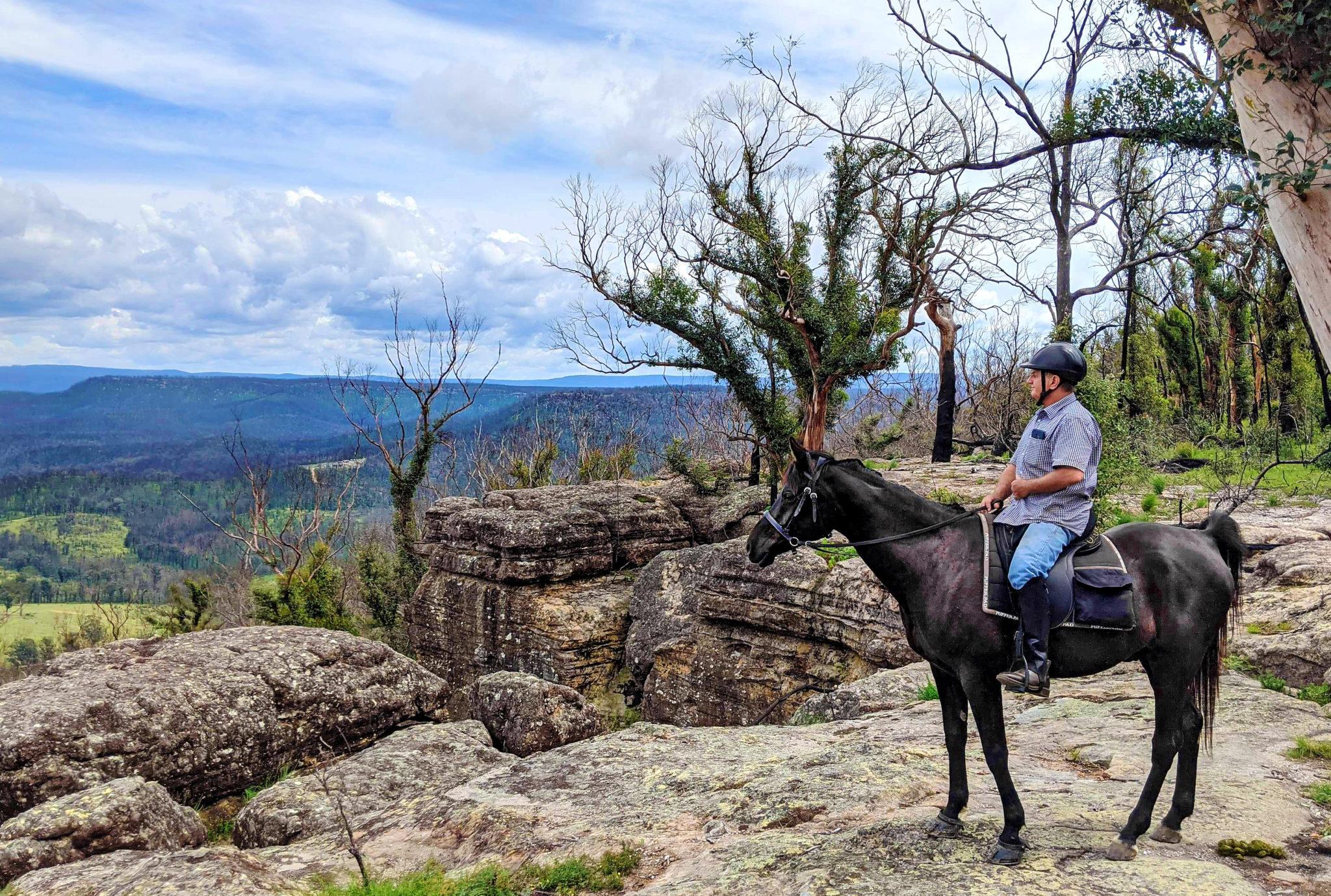 Meet a Globetrotter: Anthony Tietze - The Shoalhaven Ride, Australia - Globetrotting horse riding holidays