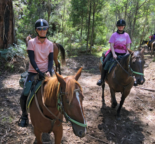 Howqua River Ride, Victoria, Australia - Globetrotting horse riding holidays