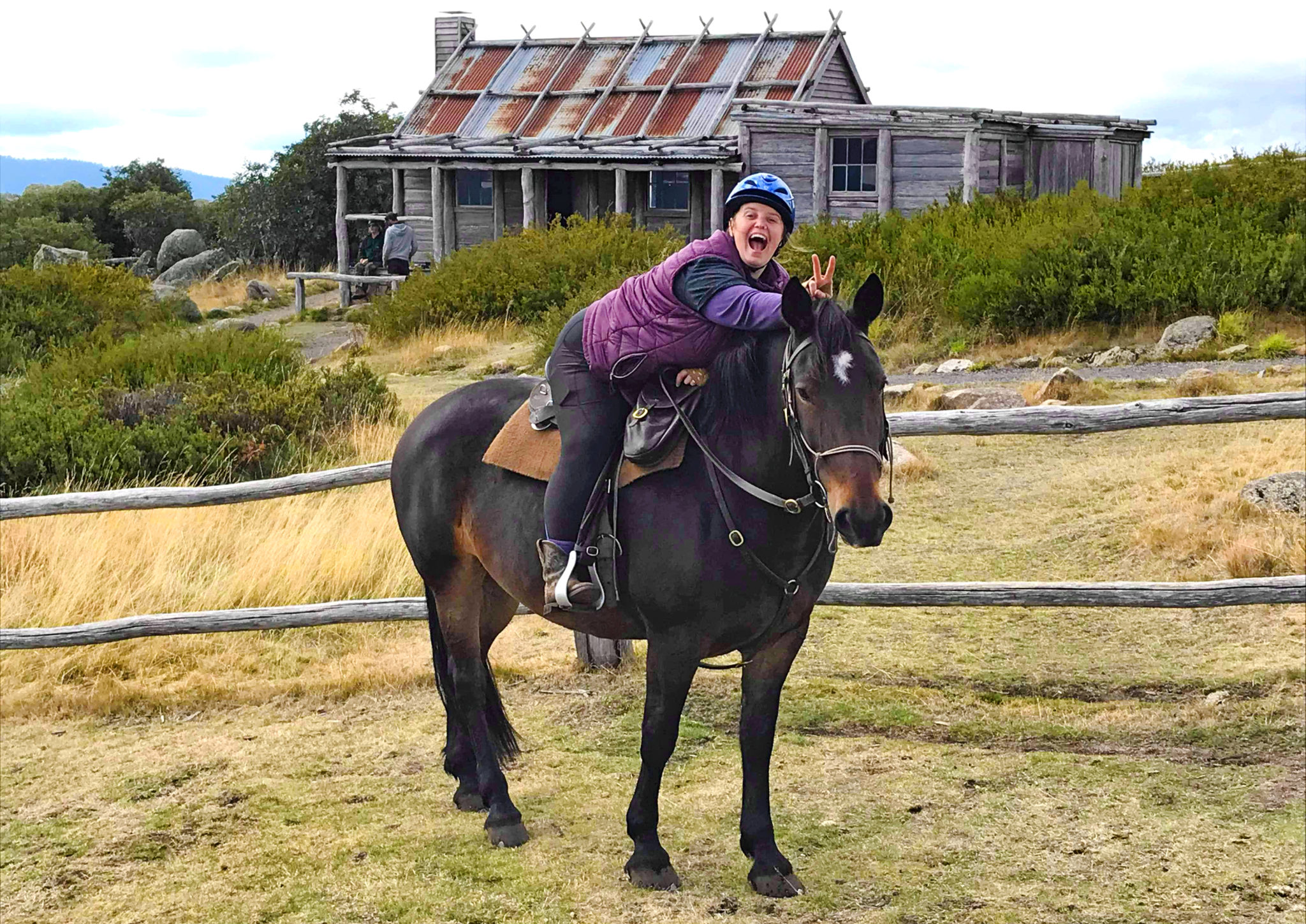 Globetrotting as a plus-sized rider - Globetrotting horse riding holidays