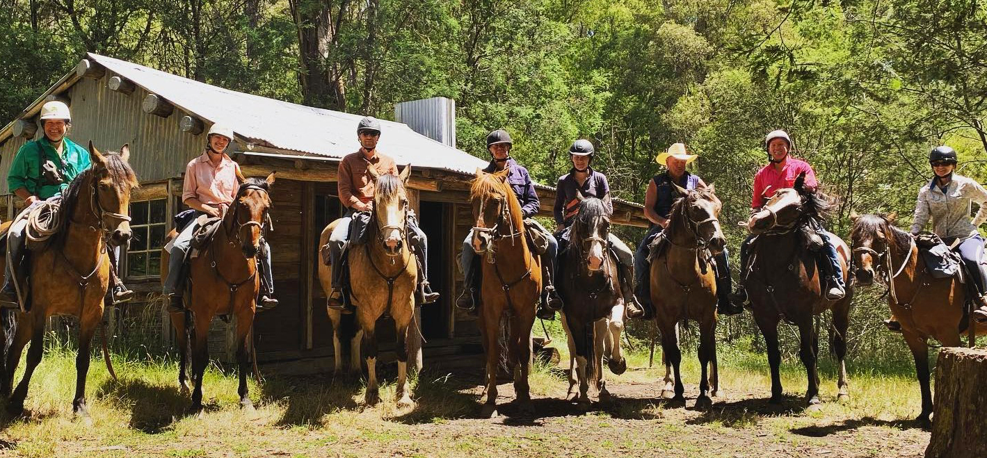 Craigs Hut and High Country Ride, Victoria, Australia - Globetrotting horse riding holidays