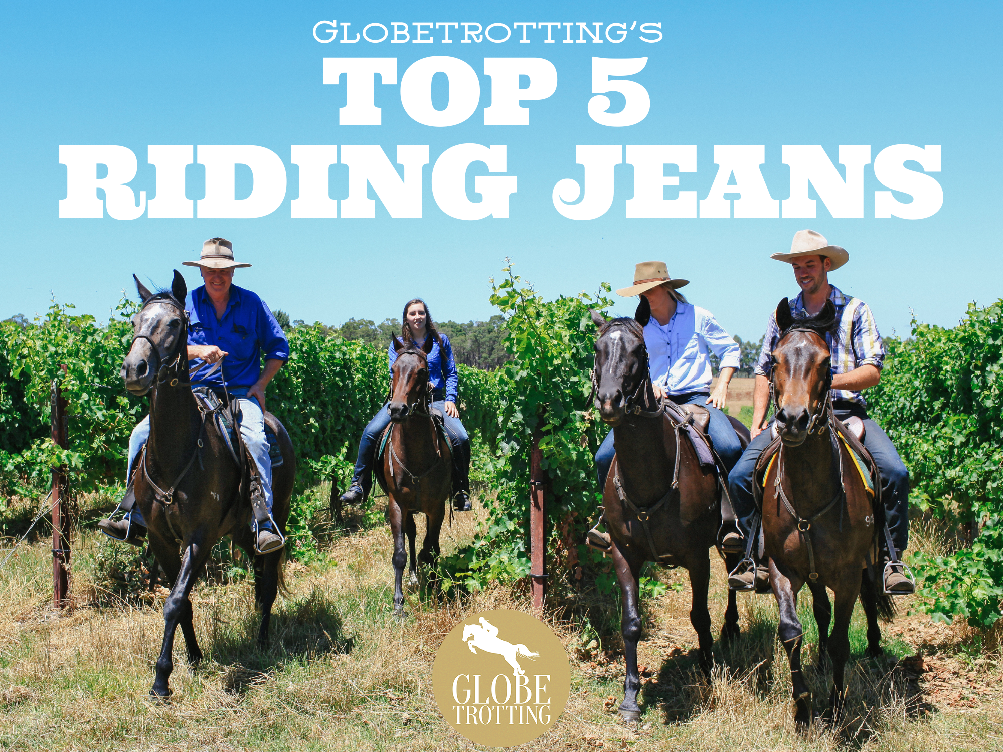 Top 5 riding jeans - Globetrotting horse riding holidays