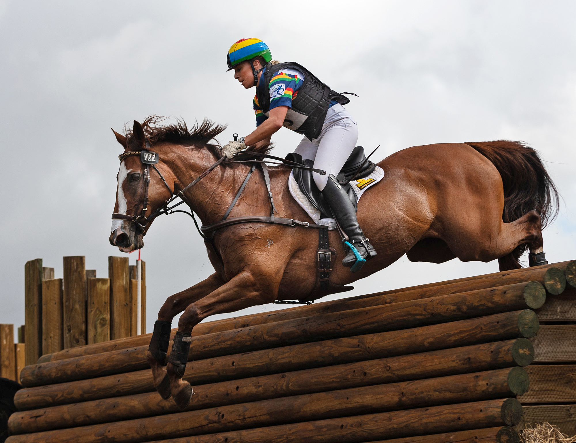 Megan Jones, Event Rider - photo by Franz Venhaus via Flickr (CC BY-ND 2.0) - Globetrotting horse riding holidays