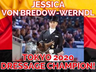Jessica von Bredow-Werndl, Tokyo 2020 Olympic Dressage Champion - photo by WDM - World Dressage Masters on Wikimedia Commons (CC BY 2.0) - Globetrotting horse riding holidays