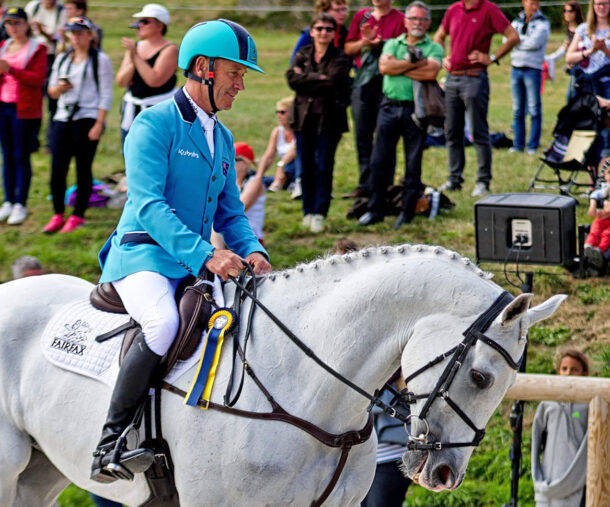 Andrew Hoy, Eventing Legend - photo by Thomas Le Floc'H on Flickr - CC BY-NC-ND 2.0