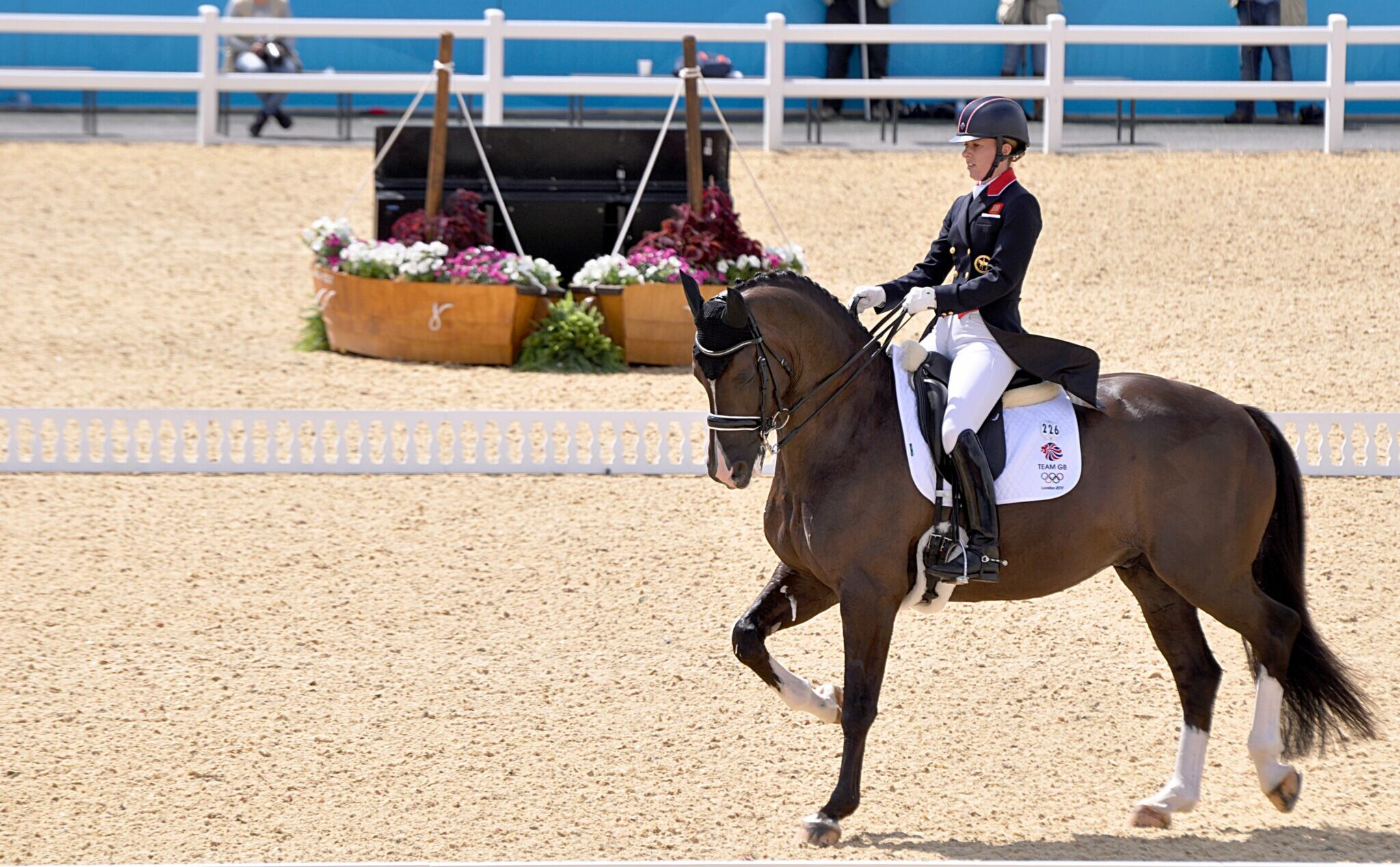 Charlotte Dujardin and Valegro - image by Equestrian on Wikimedia Commons (CC BY-SA 3.0) - Globetrotting horse riding holidays