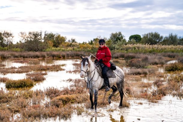 Globetrotting horse riding holidays The Camargue Ride, France