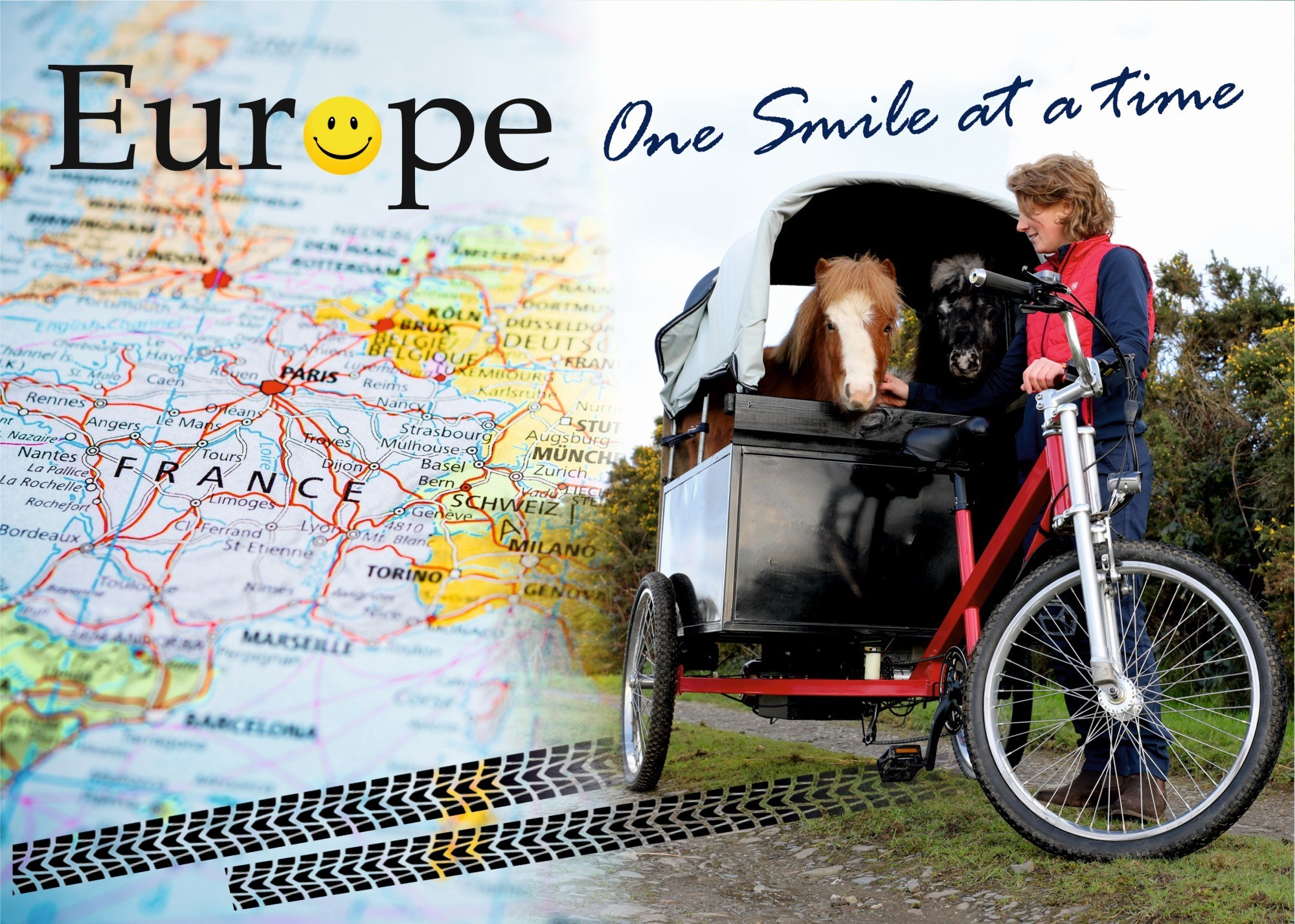 Emma Massingale Euro Trike pony adventure