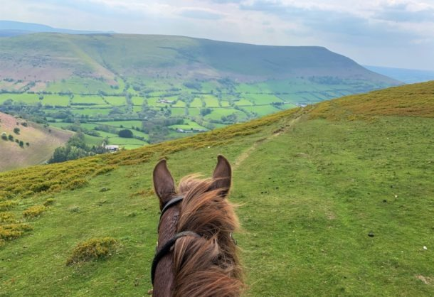 the Hay Triangle ride, Wales - Globetrotting horse riding holidays