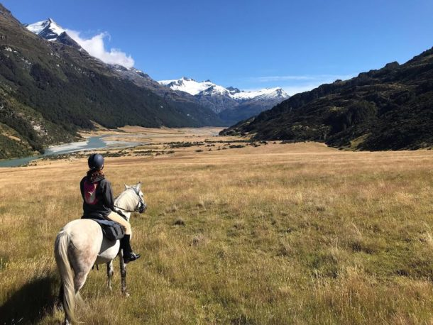 horse riding holiday Glenorchy Back Country Ride New Zealand