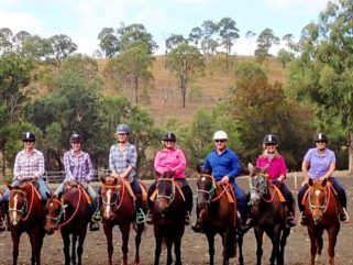 Goomboorian Campdraft Ride