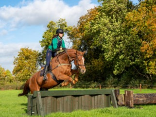 cross country jumping on ireland horse riding holiday by globetrotting