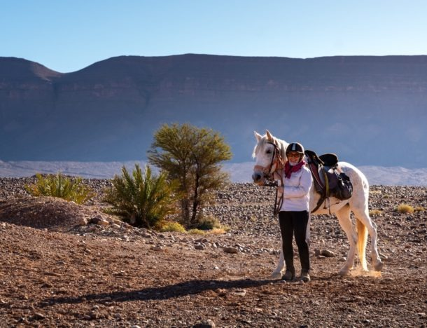 Globetrotting Sahara horse riding holiday in Morocco