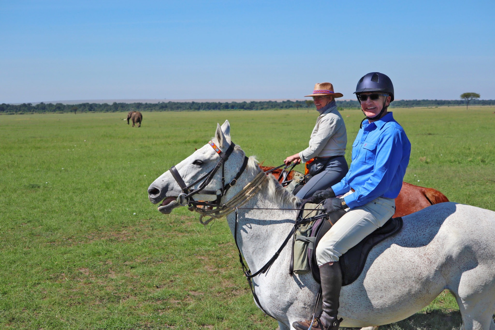 Meet a Globetrotter: Mike Barker - Globetrotting horse riding holidays