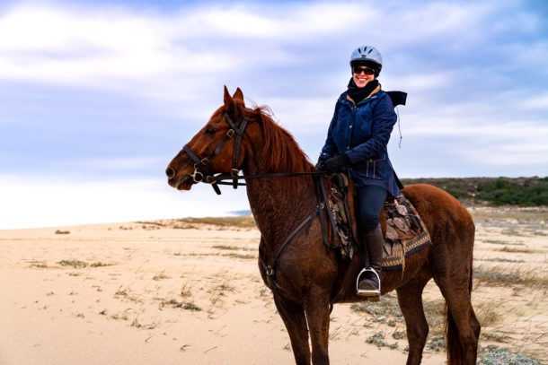 Globetrotting horse riding holiday in Costa Azul, Portugal