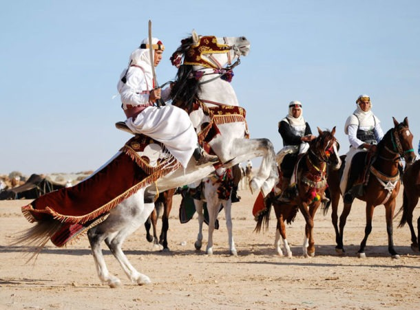 International Festival of the Sahara - Sonja Stark - Globetrotting horse riding holidays