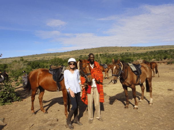 Globetrotting horse riding holiday Maasai Mara, Kenya