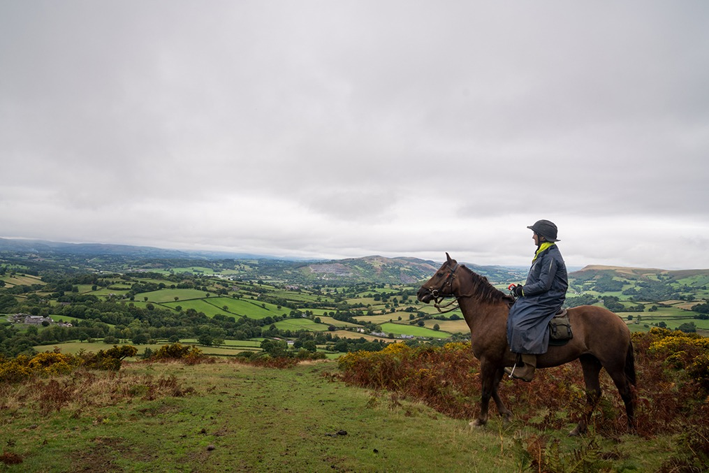 horse riding holiday in Wales