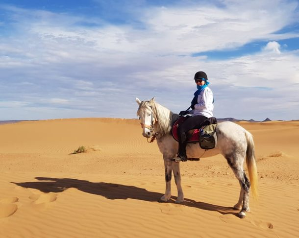 The Sahara Ride, Mocorro - Globetrotting horse riding holidays