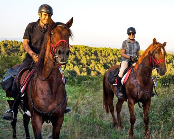 Globetrotting horse riding holiday in Catalonia, Spain