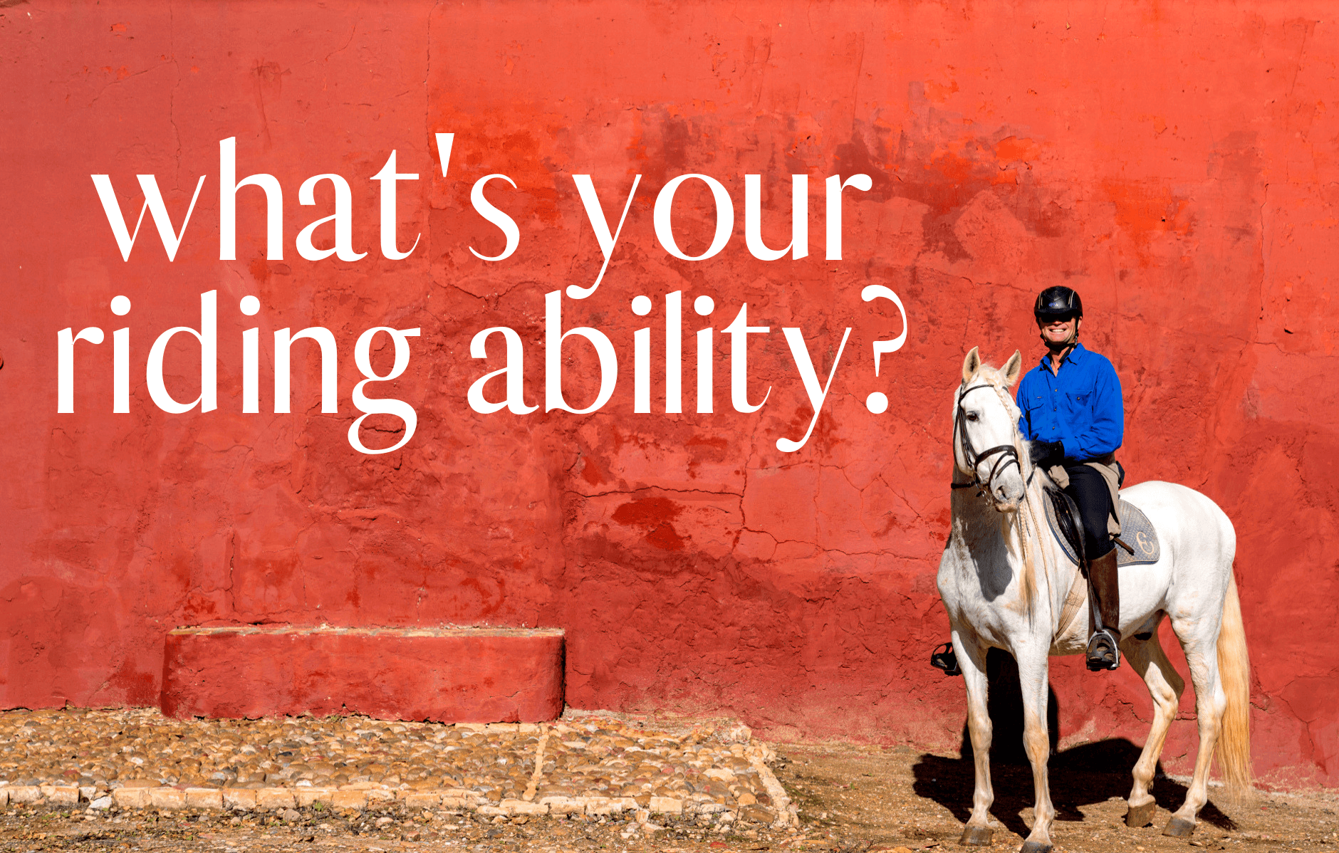 What's your riding ability? - Globetrotting horse riding holidays