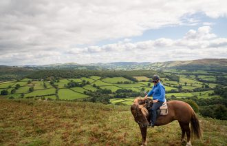 horse riding holiday Wales
