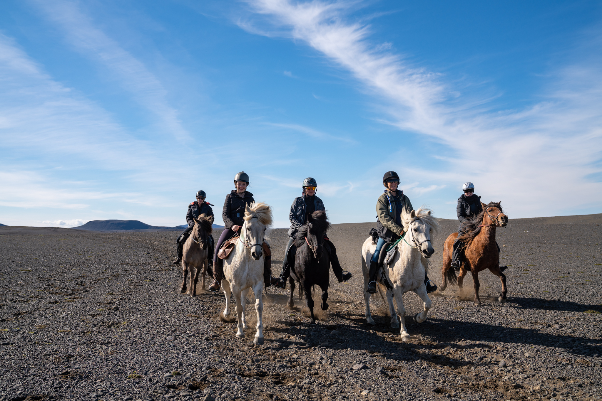 horse riding holiday Iceland