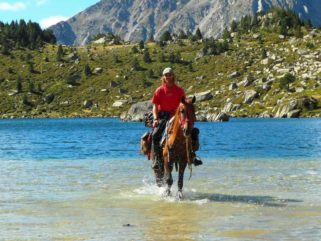 horse riding holiday in Catalonia, Spain Globetrotting guide Rudi Stolz
